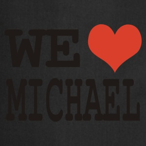Noir we love michael T-shirts - Tablier de cuisine