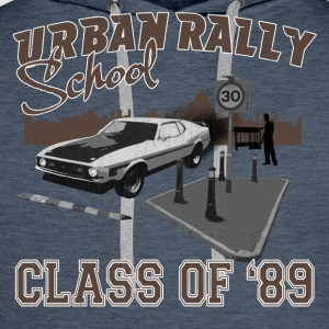 Dark navy Urban Rally School Men's T-Shirts - Men's Premium Hoodie
