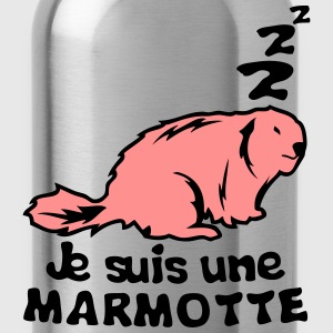 je suis une marmotte animal expression Tee shirts - Gourde