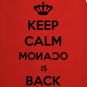 Keep Calm Monaco is Back Tee shirts - Tablier de cuisine
