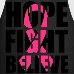 Hope fight believe Koszulki - Fartuch kuchenny