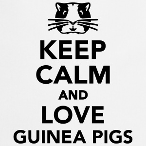 Keep calm and love guinea pigs T-Shirts - Kochschürze