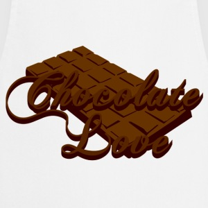 Chocolate Love Camisetas - Delantal de cocina