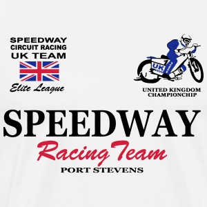 Speedway Poloshirt UK-Team Polo Shirts - Men's Premium T-Shirt