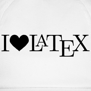 I love LaTeX T-Shirts - Baseball Cap