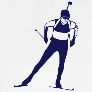 Biathlon - cross country skiing - skiing - ski Tops - Baseball Cap