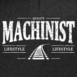 Machinist T-shirts - Snapback cap