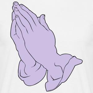 suchbegriff 39 betende hande 39 geschenke online bestellen spreadshirt. Black Bedroom Furniture Sets. Home Design Ideas