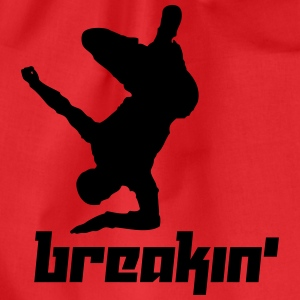 Breakin' (Vector) - Drawstring Bag