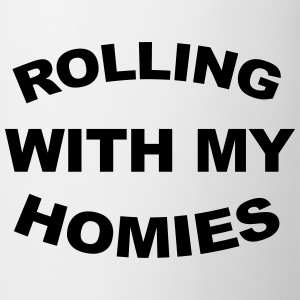 Rolling With My Homies  T-shirts - Mok