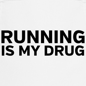 Running Is My Drug T-skjorter - Kokkeforkle