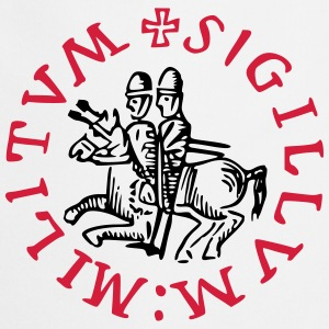 Templar knights seal new - Tablier de cuisine