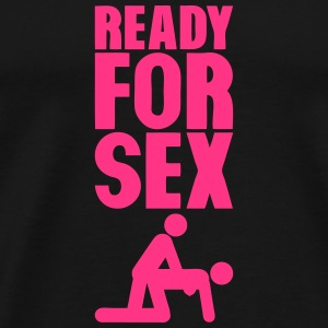 ready for sex levrette position Sportbekleidung - Männer Premium T-Shirt