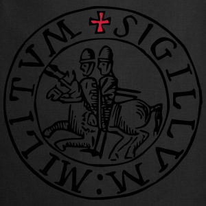 Templar knights seal - Tablier de cuisine