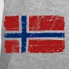 Norway Flag - Vintage Look  Trousers & Shorts - Men's Vintage T-Shirt