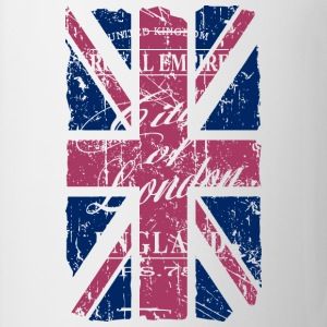 Union Jack - London - Vintage Look  T-paidat - Muki