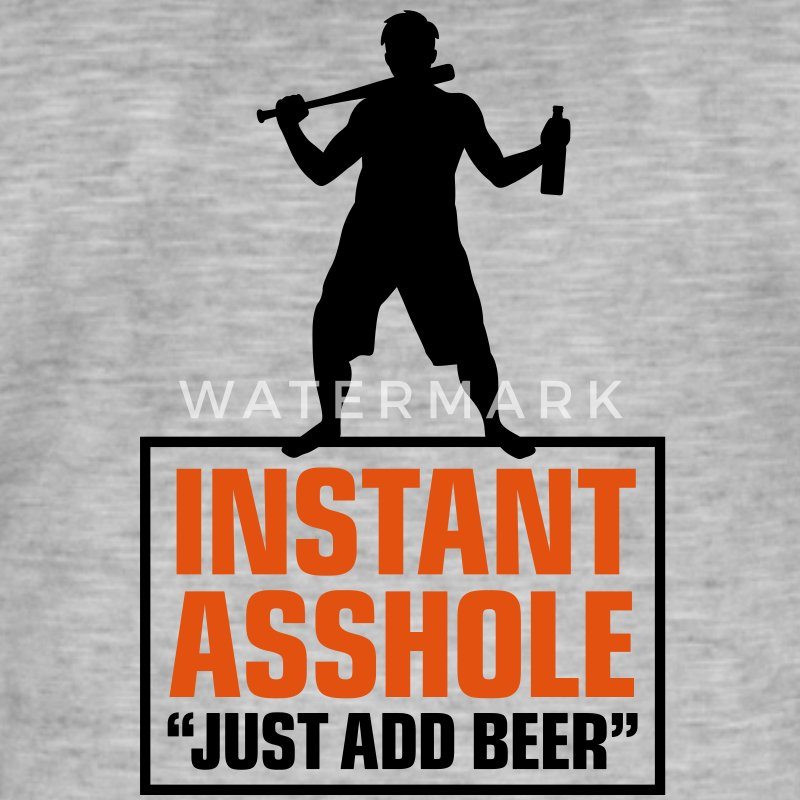 Istant Asshole. Just add Beer! Shirts - Men's Vintage T-Shirt