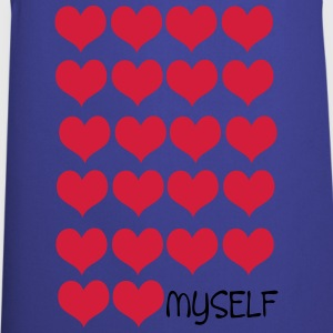 love myself Women's V-Neck T-Shirt - Cooking Apron