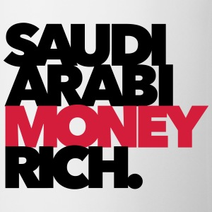 Saudi Arabi Money Rich - Chabo - Babo T-Shirts - Tasse
