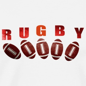 rugby 2 Peluches - T-shirt Premium Homme