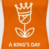 A King's Day T-shirts - Vrouwen Premium T-shirt