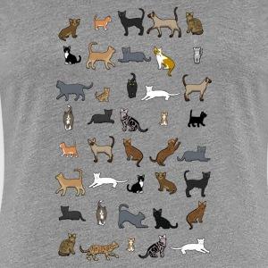 katzen t shirts online bestellen spreadshirt. Black Bedroom Furniture Sets. Home Design Ideas