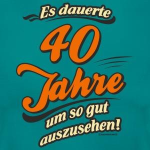 t shirts zum 40 geburtstag online bestellen spreadshirt. Black Bedroom Furniture Sets. Home Design Ideas