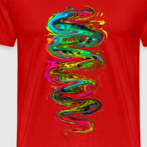 Color your life! Rainbow, Music, Trance, Techno, G - T-shirt Premium Homme