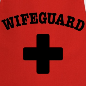 wife guard T-Shirts - Cooking Apron