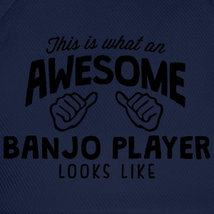 awesome banjo player looks like - Baseball Cap