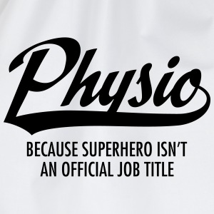 Physio - Superhero T-Shirts - Drawstring Bag