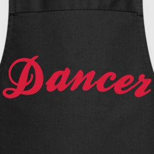 dancer cool curved logo - Kochschürze