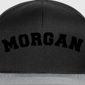 morgan name surname sports jersey curved - Snapback Cap