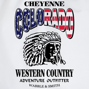 Colorado Indian Chief Shirt Design Sudaderas - Mochila saco