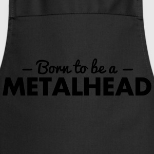 born to be a metalhead - Cooking Apron