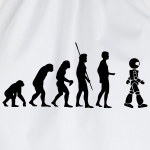 Evolution roboten T-shirts - Gymnastikpåse