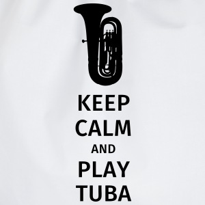 keep calm and play tuba T-shirts - Gymtas