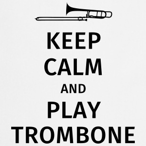 keep calm and play trombone T-paidat - Esiliina