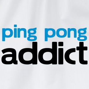 ping pong addict T-Shirts - Drawstring Bag