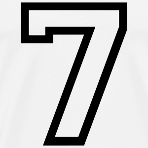 THE number seven, 7 years Sports wear - Men's Premium T-Shirt