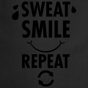 Sweat, Smile, Repeat T-skjorter - Kokkeforkle