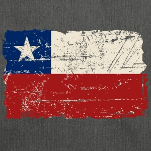 Chile Flag - Vintage Look T-shirts - Schoudertas van gerecycled materiaal