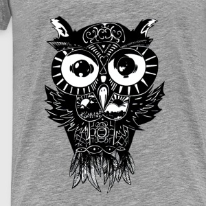 Dimension Owl - Tank top with razer back - Men's Premium T-Shirt