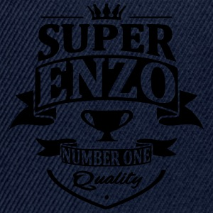 Super Enzo Tee shirts - Casquette snapback
