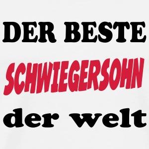 suchbegriff 39 bester schwiegersohn 39 t shirts online bestellen spreadshirt. Black Bedroom Furniture Sets. Home Design Ideas