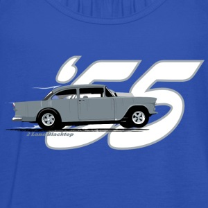 2 Lane Black Top '55 Chevy T-Shirts - Women's Tank Top by Bella