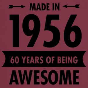 Made In 1956 . 60 Years Of Being Awesome T-shirts - Keukenschort