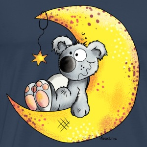 Koala In The Moon Long sleeve shirts - Men's Premium T-Shirt