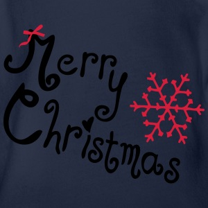 X-MAS Kids' T-Shirt - Organic Short-sleeved Baby Bodysuit