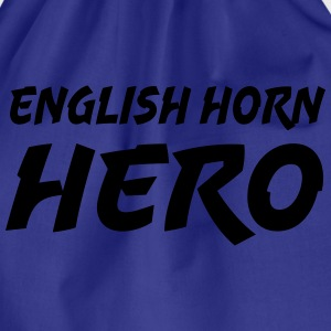 English Horn Hero Camisetas - Mochila saco